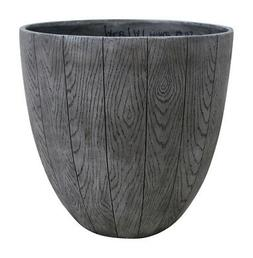 Southern Patio  14.53 in. H x 15 in. W Graywood  Resin  Wood