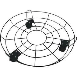 Best Garden 16 In. Coated Metal Wire Rolling Plant Caddy FF1