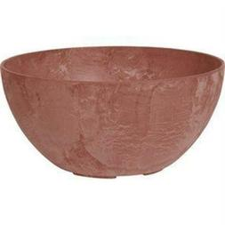 Novelty Manufacturing 246470 12 in. Napa Bowl Planter Rust -