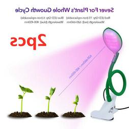 2x LED Grow Light Plant Growing Lamp for Indoor Plant with S