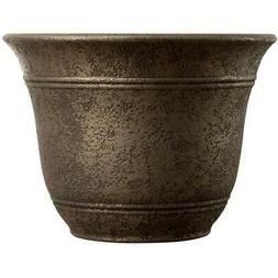 4 * Bell Planters Myers-itml-akro Mils 10in. Nordic Bronze S