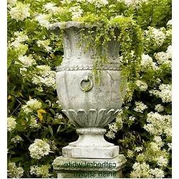 Appian Garden Urn Planter by Orlandi Statuary Made of Fibers