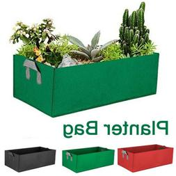 Fabric Raised Garden Bed Grow Bags Flower Vegetable Planter