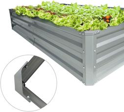 Galvanized Planters For Outdoors Raised Garden Beds Metal El