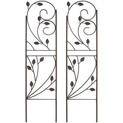 Outdoor Garden Plant Design Trellis for Growing Plants and V