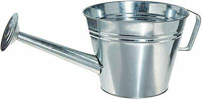 8349 galvanized steel watering can planter