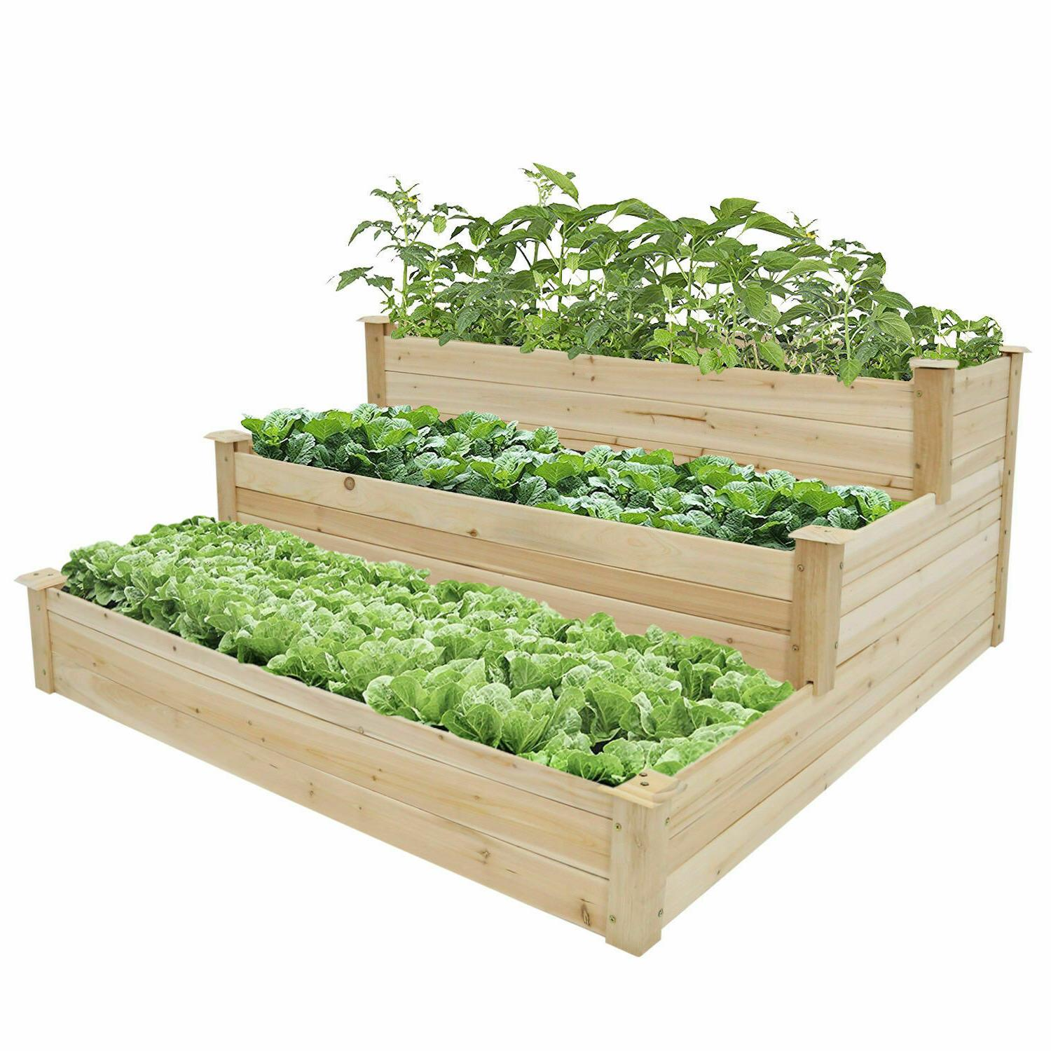 Raised Bed Patio for Flowers