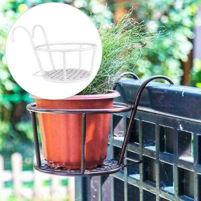 Wall Hanging Flower Plant Baskets Pot Planter Holder For Out
