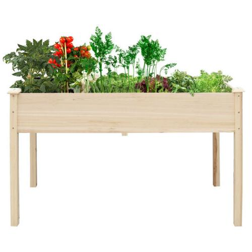 Planter Garden Rectangular Raised