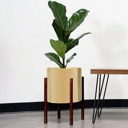 Large Gold Plant Pot Modern Planter Indoor Flower Pot with W