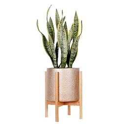 Mid Century Modern Plant Stand - Fits 10Inch Planter Pots  -