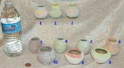 Mini Flower Pots/Planters small footed ceramic containers fo