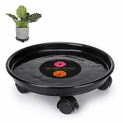 Murilan Plant Caddy with Wheels, Rolling Pot Caddy Heavy Dut