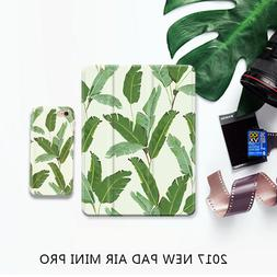 Plant Fresh Tree PU Leather Stand Case Cover For iPad Air Mi