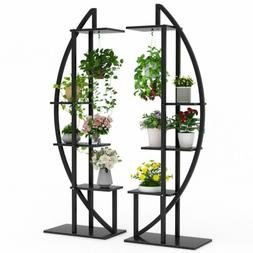 5-Tier Plant Stand Pack of 2, Indoor Multilayer Potted Plant