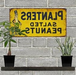 Planters Salted Peanuts Advertising Metal Reproduction Sign