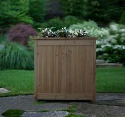 Algreen Products Ergogarden Deck Box and Elevated Planter