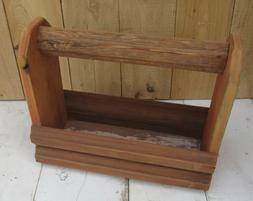 Reclaimed Barn wood Rustic Country Primitive Tool Garden Pla