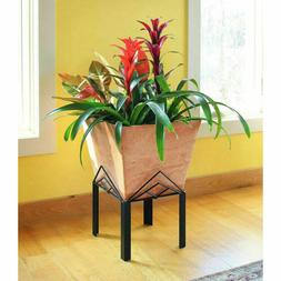 Achla Designs Solaria Collection Low Marion Planter with Sta