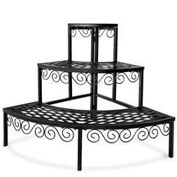 Tiered Plant Stand Metal 3 Tier Plants Ladder Potted Indoor
