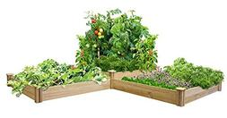 Greenes Fence Two Tiers Dovetail Raised Garden Bed