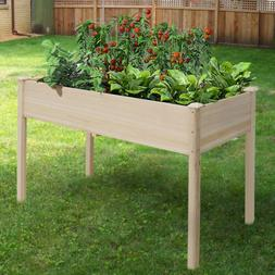planter box garden bed rectangular raised plant